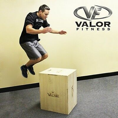 Valor Plyo Box 20/24/30 Wood PBX-A Fitness Jump Box NEW