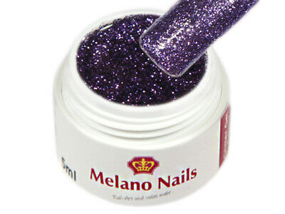 Glitter UV Gel Made in Germany 5ml Glitter Lavender