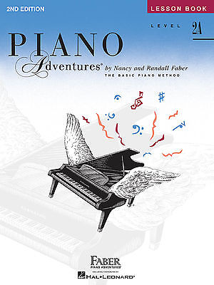 FABER PIANO ADVENTURES LEVEL 2A - LESSON BOOK - 2ND EDITION 420174