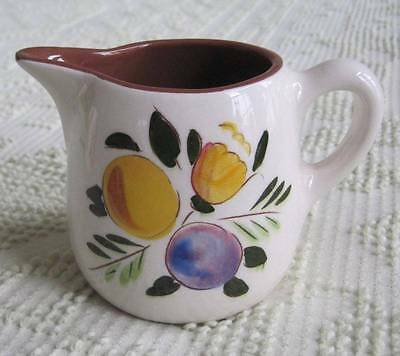 Stangl Pottery Fruit and Flowers 1/2 Pint Pitcher #4030