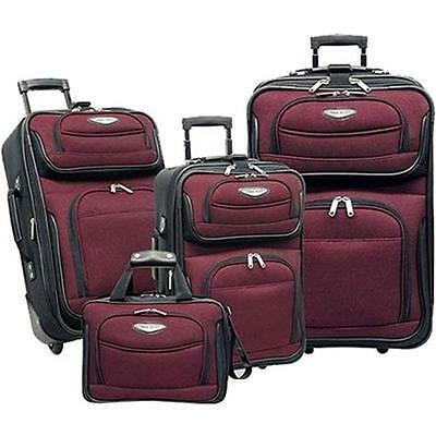 Travel Select TS6950R Traveler's Choice Amsterdam 4pc Travel Collection