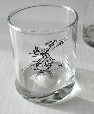 Vintage Wizard Of Id Glass/Tumbler