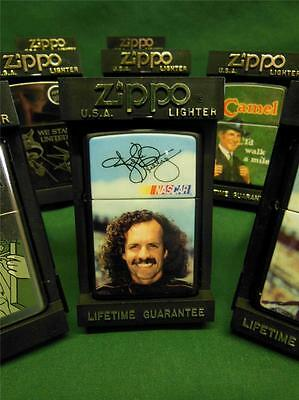 1994 Kyle Petty Nascar Driver Zippo Unused Cigarette Cigar Lighter + Case Black