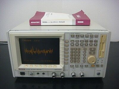 Advantest R3762BH 300kHz-3.6GHz Vector Network Analyzer