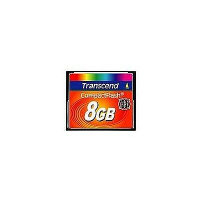 Transcend 133X (8GB) CompactFlash Card
