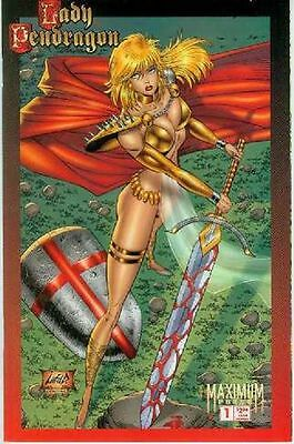 Lady Pendragon # 1 (Hector Gomez, one-shot, alternate cover) (USA, 1996)