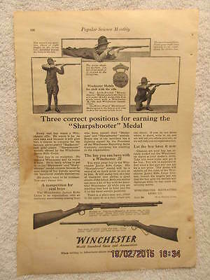 Advertising-print 1910-19 Original 1917 Winchester Gun Advertisement..be Nice Framed
