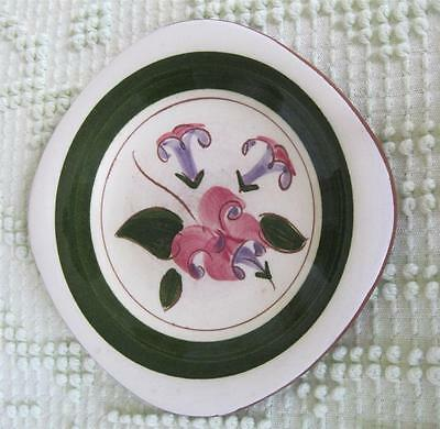 1948-52 Stangl Pottery Trumpet Flower Honeysuckle Coaster Ashtray #3795