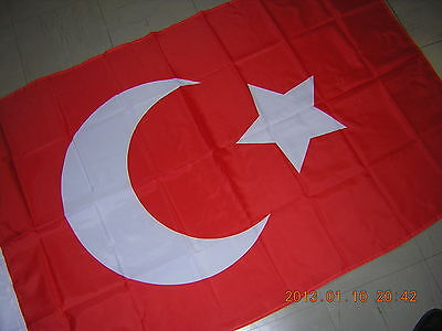 Pre 1922 Flag of Ottoman Empire Turkey Turkish Osmanlı İmparatorluğu Red Ensign