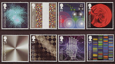 Great Britain 2015 Inventive Britain Set Of 8 Singles Unmounted Mint