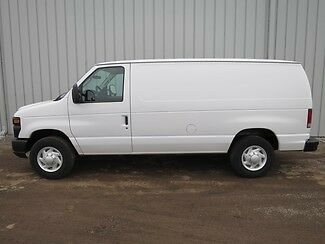 Ford : E-Series Van SERVICE 3 4 ton e 250 5.4 v 8 automatic cargo delivery work tool bin service van truck