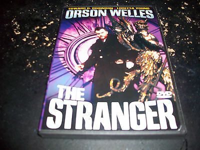CLASSIC THRILLER MOVIE: THE STRANGER USED & IN EXCELLENT CONDITION! ORSON WELLES