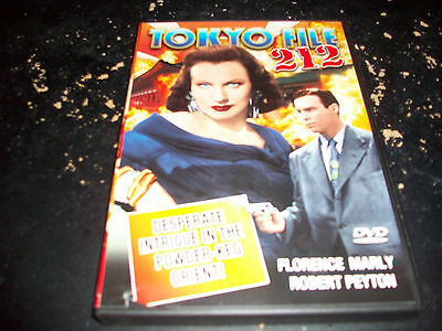 CLASSIC THRILLER MOVIE: TOKYO FILE 212!! USED & IN EXCELLENT CONDITION!!!!