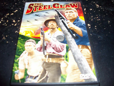 CLASSIC WAR MOVIE: THE STEEL CLAW!! USED & IN EXCELLENT CONDITION!!!