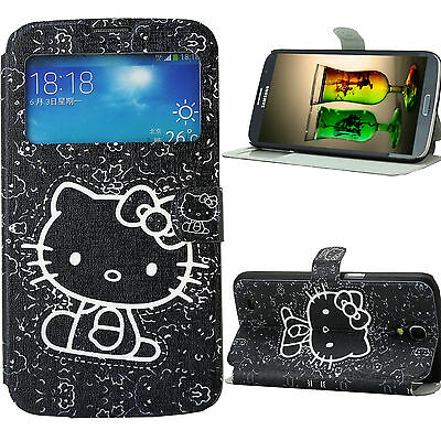 Case for Samsung Galaxy Mega 6.3 Cover KCAB Skin PU Leather Hello Kitty
