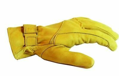 Leather Gloves Cowboy Western yellow Leather Gloves unlined riding gloves
