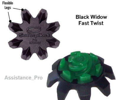 56 Black Widow Fast Twist Tri-Lok spikes Bulk Packed with free fly tees