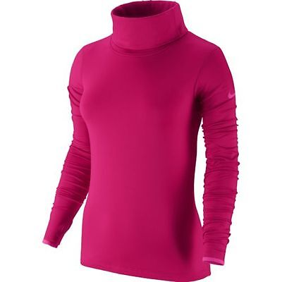 Nwt Wmn Nike 620415 -691 Dri Fit Pro Hyperwarm Infinity Training Top $65