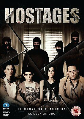 HOSTAGES Stagione 1 Serie Completa 2DVD in Tedesco NEW .cp