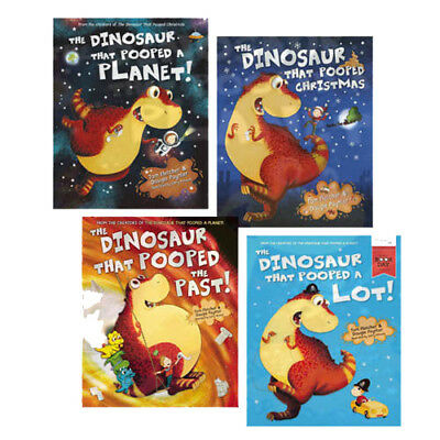 The Dinosaur That Series 4 Books Collection Set By Tom Fletcher & Dougie Poynter