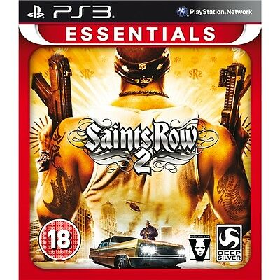 PS3 game ** SAINTS ROW 2 ** new sealed