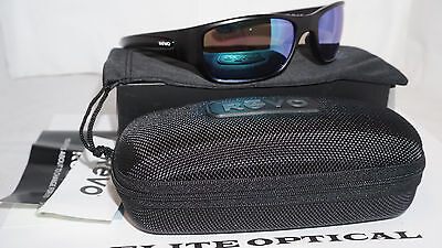 d719eb6028 REVO New Sunglasses HEADING X Matte Black Blue Water Polarized RE4058X 01 BL