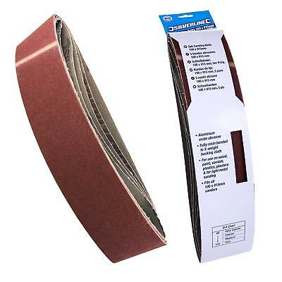 10 Sanding Belts 100mm x 915mm 80G to fit Draper Belt/Disc Sander 53005/50021