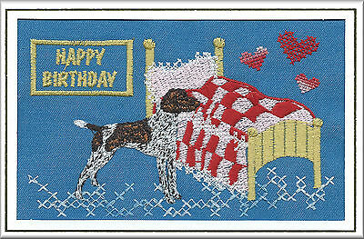 German Shorthaired Pointer Birthday Card by Dogmania  - FREE PERSONALISATION