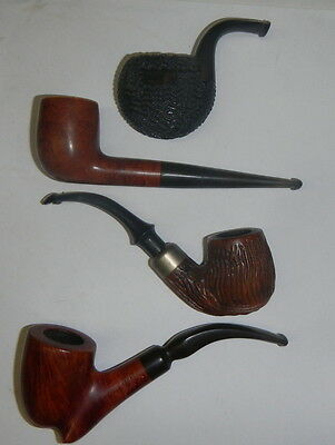 4 VINTAGE MISC. SMOKERS PIPES