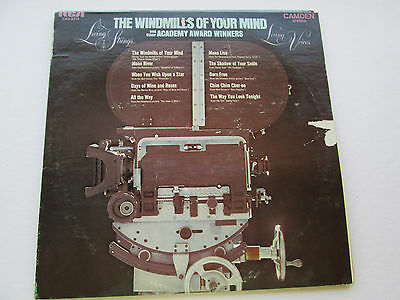 Vintage 1969 Living Strings The Windmills of your Mind 33RPM LP Record RCA