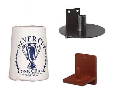 Silver Cup Cone Chalk Available With Various Holders