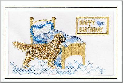 Golden Retriever Scarf Perfect Gift Embroidered by Dogmania