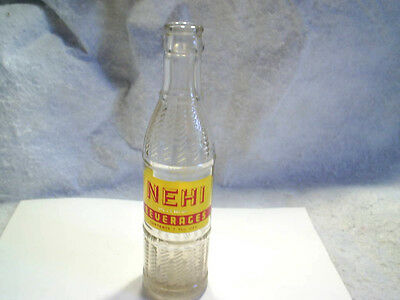 1948 NEHI BEVERAGES SODA BOTTLE Northland Bottling Co.green bay wisconsin,pop