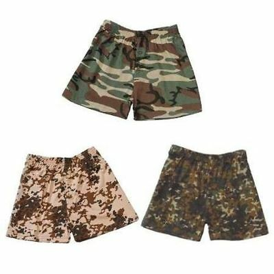 Boxershorts mutande MILITARY ARMY MIMETICO Hipster cotone S M L XL XXL
