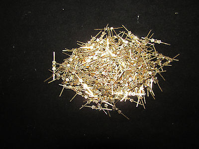300  33 Mm Brass Chandelier Parts Lamp Crystal Prism Bead Connector Pins Bowtie