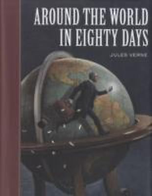 Around the World in 80 Days by Jules Verne (2008, Hardcover)