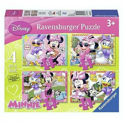 Minnie Maus - Puzzle Box 4 in 1 Mouse & Daisy