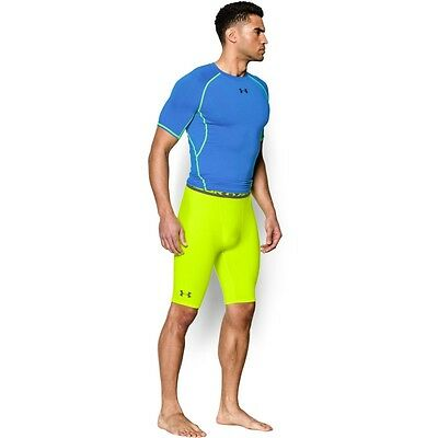 Under Armour Compression Shorts ARMOUR Heatgear Long Neon. Valetudo, Jogging,usw