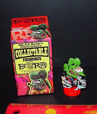 OFFICIAL ED ROTH RAT BIKER BROTHER RAT FINK NEW IN OPENED BOX RARE ITEM