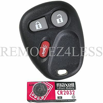 New Replacement Remote Key Fob for 15008008 15008009 + Extra Battery