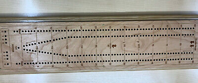 Cribbage - Tournament long board premium – personalized CHERRY model USA