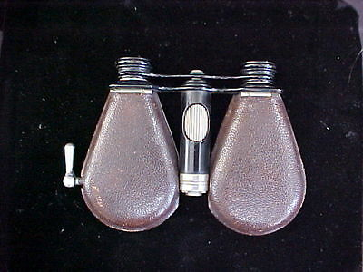 ANTIQUE FRENCH LEMAIRE COLLAPSIBLE OPERA GLASSES