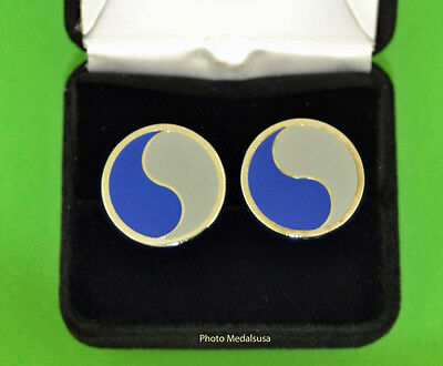 29th Infantry Division - Army National Guard Cuff Links - ANG DIV cufflinks