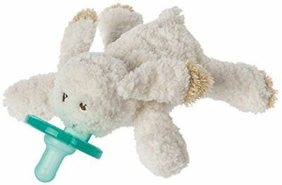 Mary Meyer WubbaNub Infant Newborn Baby Soothie Pacifier ~ Oatmeal Bunny