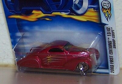 2003 Hot Wheels First Editions Swoop Coupe Ford Highway 35 35th Anniversary
