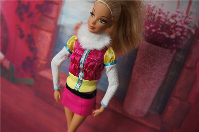 high quality children GIFT new lovely dress for barbies Doll a1766