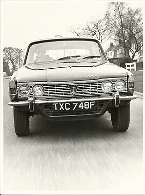 The New Rover Three Thousand Five Hundred Mk1 Period Press Photograph.