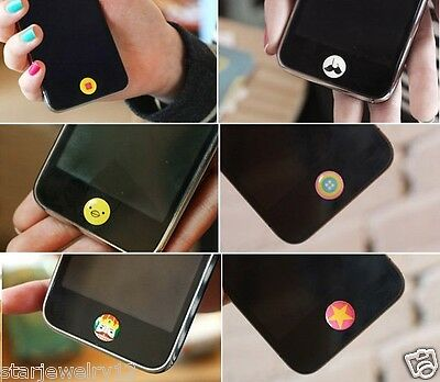 Lots 50pcs cute Phone stickers keypad designed DIY for iphone 6 5/5S