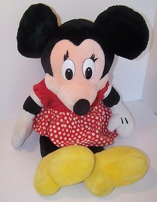 VTG Disneyland Minnie Mouse Large Plush Stuffed 25""