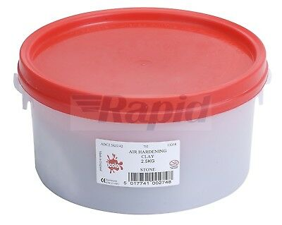 Scola Air Drying Modelling Clay 2.5kg Stone
